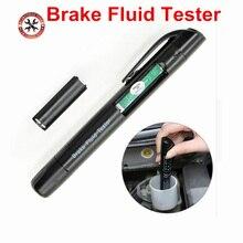 Тестовая Тормозная жидкость er, инструмент для испытания тормозов автомобиля, тип ручки, портативная Автомобильная тормозная система, проверка DOT3 DOT4 DOT5.1 с самой низкой ценой