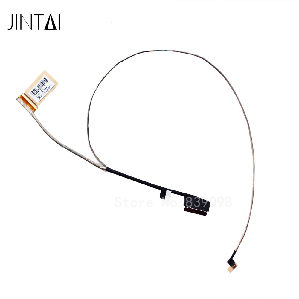 Ordinateur portable LCD LED LVDS câble décran vidéo pour HP pavillon 15-P envie 15-K DDY14ALC140 DDY14ALC020 762519-001