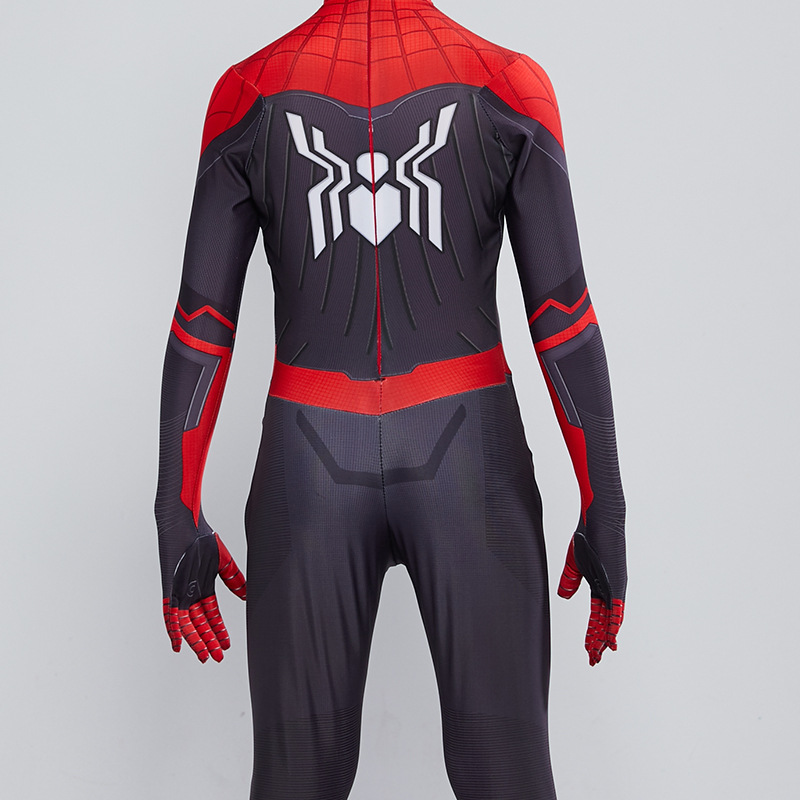 2019 Kids Spider Man Far From Home Peter Parker Cosplay Costume Zentai Spiderman Superhero Bodysuit Suit Jumpsuits