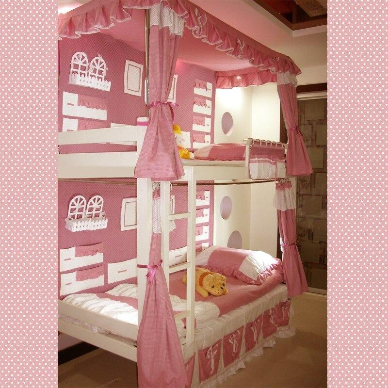 O nível de dez conjuntos de cama cama de beliche