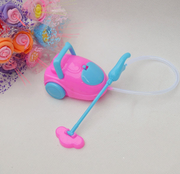 Instructional Toy Doll Equipment Tremendous Cute Vacuum Cleaner Doll Furnishings For Barbie Doll Youngster Child Toys Greatest Present for Youngster