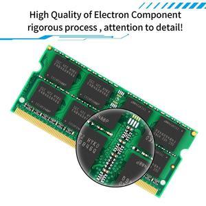 Image 3 - DDR3 RAM DDR3L 4GB 8GB 16GB 1600MHz 1333MHZ 1.5V PC3L 12800 204Pin 1.35V CL11 SODIMM dizüstü Ram bellek iMac tüm dizüstü bilgisayar