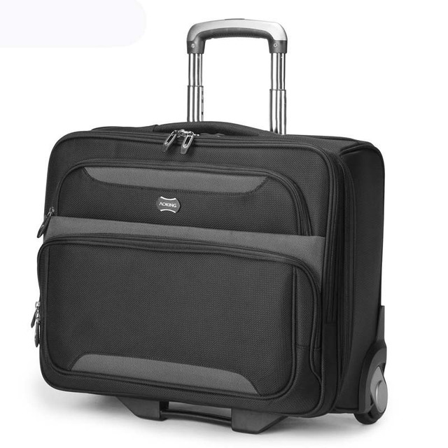 BeaSumore Multifunction Men Business Rolling Luggage on wheel Computer Trolley carry on Travel Bag Suitcase Wheels Trunk