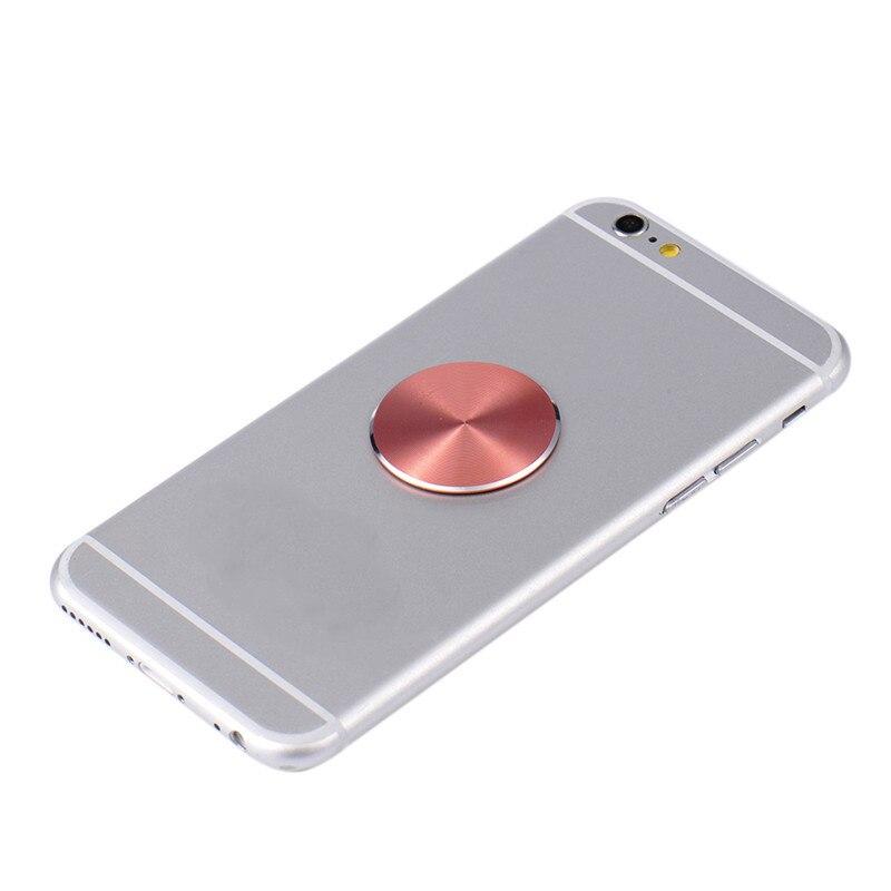 Acessórios Suporte de Suporte Do Telefone Do Carro Universal Placa de Metal Magnético Matte 33*33 milímetros Inoxidável Chapas De Ferro Para Ímã Telefone apoio