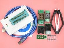 Бесплатная Доставка 1kit MiniPro TL866CS Prgrammer USB Универсальный Программатор/Bios Программы + 6 шт. Адаптер нет box