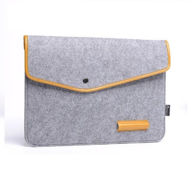 Woolen Felt Women Handbags Men Computer Smart Cover Small Pouch Bag Female Male Cable Digital Package