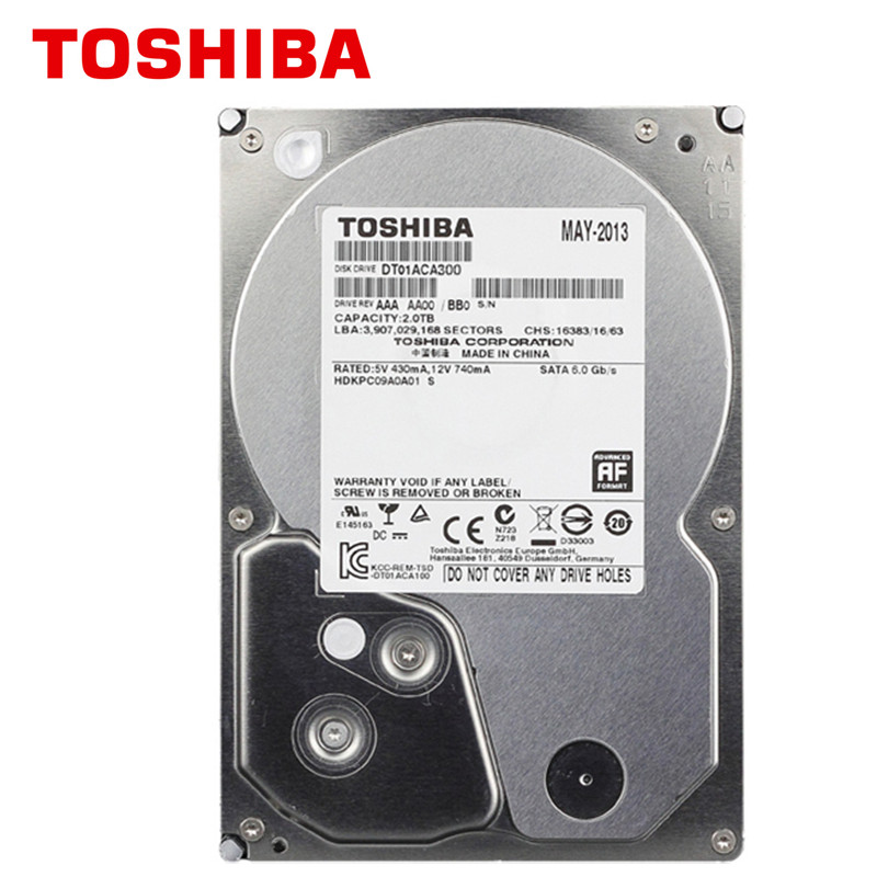 Toshiba 3tb hdd hd 7200rpm 3 5 64mb 3000gb 3000g sata3 internal hard disk drive for