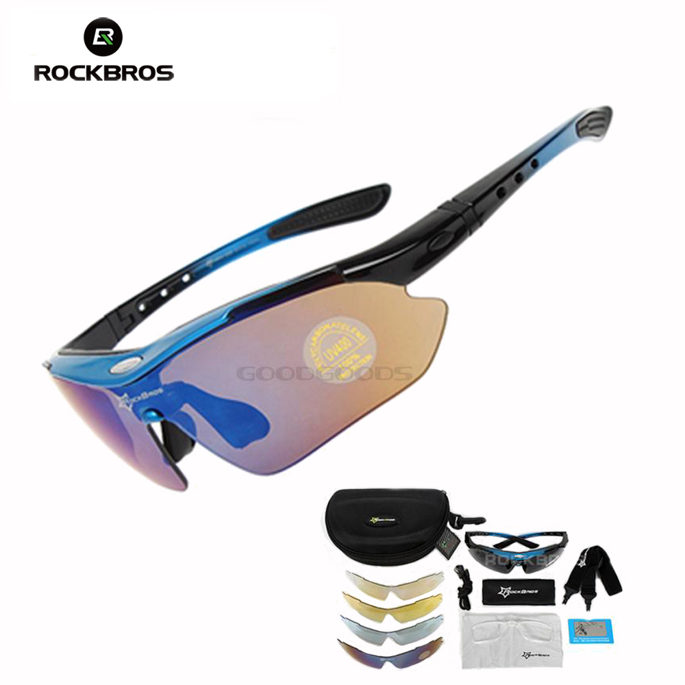 2015 RockBros Polarized Sun Glasses Outdoor Sports Sunglasses Cycling Sun Goggles Bicycle Bike Sunglasses TR90 Eye wear obaolay outdoor cycling sunglasses polarized bike glasses 5 lenses mountain bicycle uv400 goggles mtb sports eyewear for unisex
