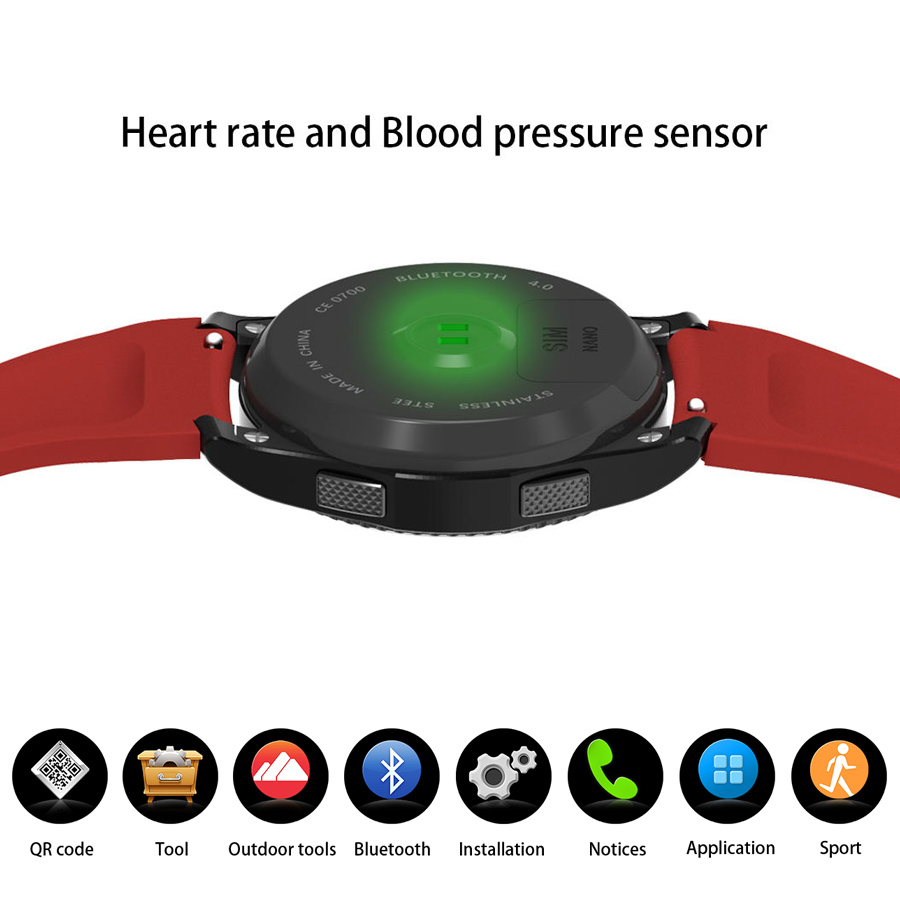 Blood Pressure Heart Rate Monitor Smart Watch Wristwatch Sync Data support SIM Card Alarm Remote Music For IOS Android Phone jaysdarel heart rate blood pressure monitor smart watch no 1 gs8 sim card sms call bluetooth smart wristwatch for android ios