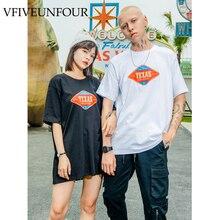 VFIVEUNFOUR Printed T Shirts High Street 2019 Summer Men Women Casual Hip Hop Tops Tees Male Fashion Short Sleeve Cotton Tshirts best es 414 2m 900 ix