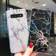 CYATO Luxury Marble IMD Case For Samsung S10 S10Plus S10E Cover Soft TPU S9 S8 Note9 Note8 Phone Cases