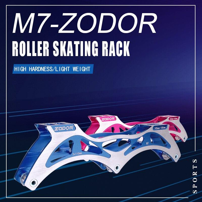 Professional Adult Speed Skating Frame 3x90mm 3x100mm 3x110mm Aluminium Alloy Frame 3 Wheels Children Inline Roller Skate Frame