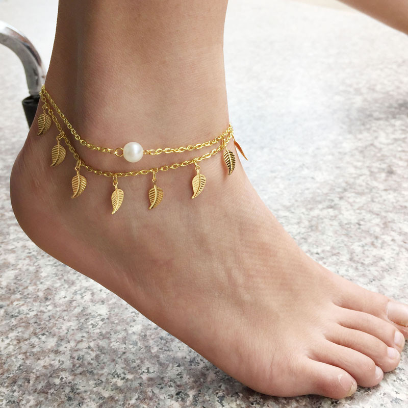 Aliexpress.com : Buy 1PC Sexy Simple Gold Anklet Ankle ...