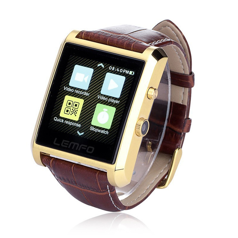 Bluetooth Smart Watch Mobile Phone font b Smartwatch b font Wristwatch for iPhone Xiaomi Meizu Huawei