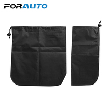 1 Pair Car Rearview Mirror Cover Protection Frost Ice Shield Shade Waterproof Sun Shade Side Mirror Snow Cover Car-styling cheap Car Covers FORAUTO Non-Woven Polypropylene Fabric 27cm Universal 29cm 17132