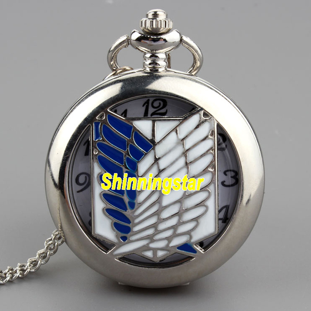 New Arrival Unique Design Fashion Silver Blue Sail Hollow Quartz Pocket Watch Ne