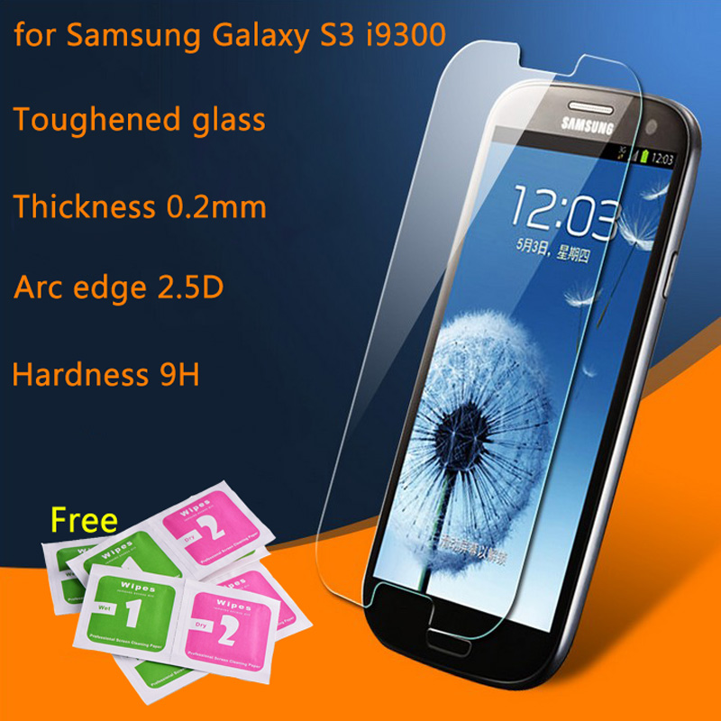 Premium Tempered <font><b>Glass</b></font> For <font><b>Samsung</b></font> Galaxy S3 <font><b>S4</b></font> S5 S6 <font><b>mini</b></font> Note2 SIII I9300 Duos Screen Protector HD Toughened Protective Film image