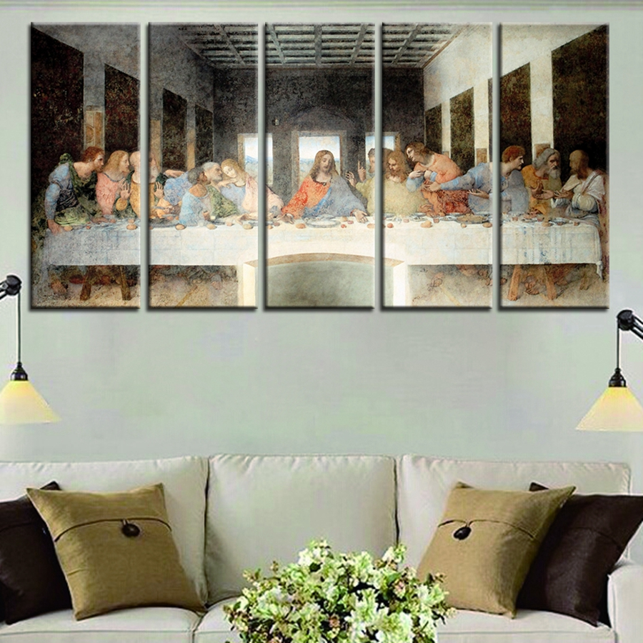 Last Supper Wall Decor online buy wholesale last supper oil painting from china last