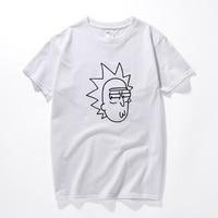 Ricka And Morty Tshirt Men T Shirt Rick And Morty Brand Clothing Rick Morty Skateboard T