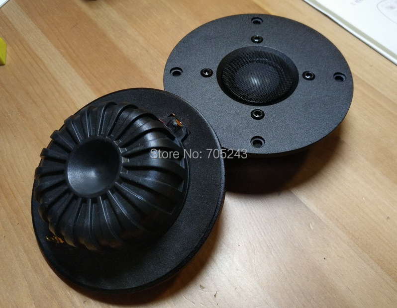 2 pcs hiend Melo david audio Murni BE beryllium kubah tweeter speaker 92db 50W NEO magnet (versi MK2)