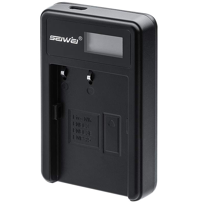 EN-EL3e ENEL3e EN EL3e USB LCD <font><b>Battery</b></font> <font><b>Charger</b></font> for <font><b>Nikon</b></font> D70 D90 <font><b>D80</b></font> D100 D200 D700 Digital Camera image