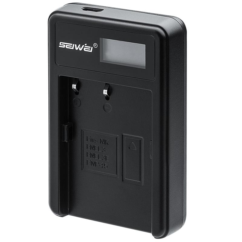 EN-EL3e ENEL3e EN EL3e USB LCD Battery Charger for Nikon D70 D90 D80 D100 D200 D700 Digital Camera