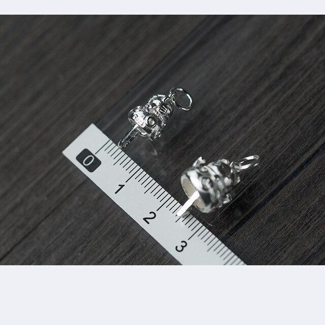 Купить uqbing оптовые аксессуары из настоящего серебра подвески маленького картинки