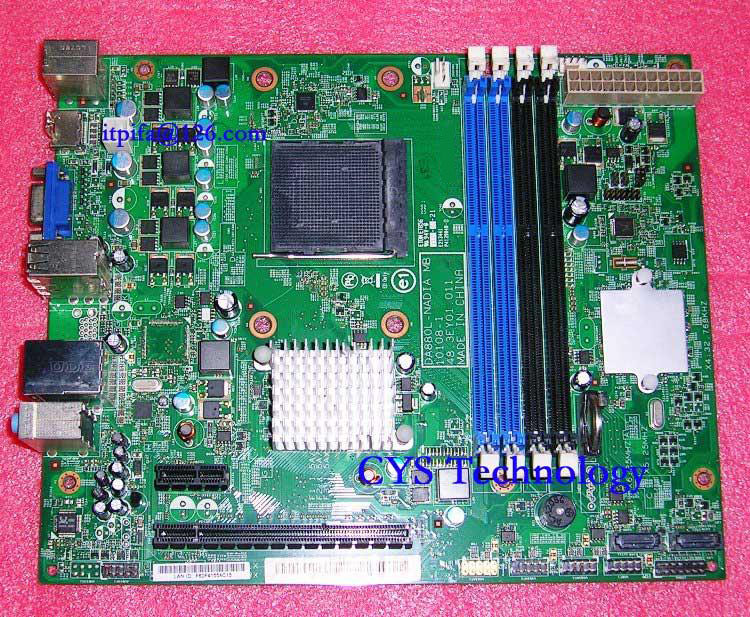 Free shipping CHUANGYISU for original motherboard DA880L NADIA MB 10108 1 48 3EY01 011 RS880 soket