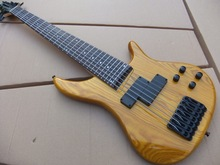 Wholesale New 7 String Electric Bass Guitar Top Quality In Natural 101029