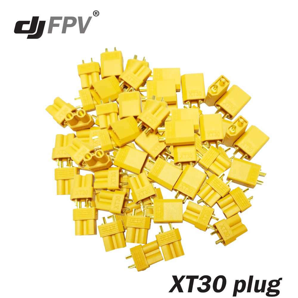 20pcs XT30 Male Female Bullet Connector Plug the Upgrade XT30 For RC FPV Lipo Battery RC Quadcopter (10 Pair) 10 pairs hot selling yellow xt30 xt60 xt90 high quality male female gold plated battery connector plug for rc aircraft