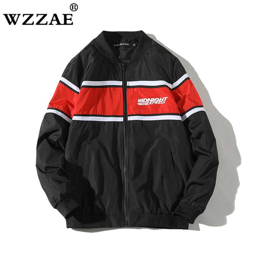 New 2018 Casual suprem Mens Jackets Waterproof Spring Baseball Coats Men Outerwear Casual Brand Male Clothing Plus Size S-4XL