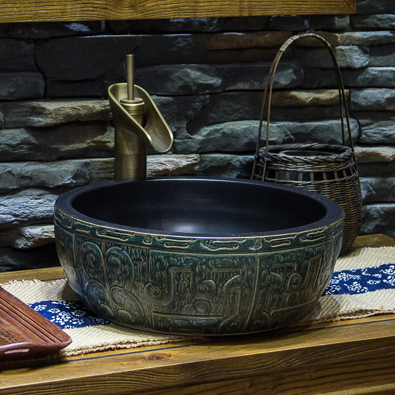 Artistic Hand Maded Painted Ceramic Porcelain Wash Basin Lavabo Sink Bathroom Bowls In Sinks From Home Improvement