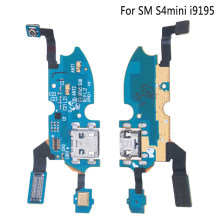 1Pc new Charger Flex For Samsung S4 Mini i9195 USB Date Port Connector Dock Charging Flex Cable Repair Part(China)