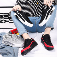 ROEGRE Brand Summer Denim Shoes Men Sneakers Low top lightweigh Skate Shoes Men's Casual Shoes Male Fashion Sneakers Black