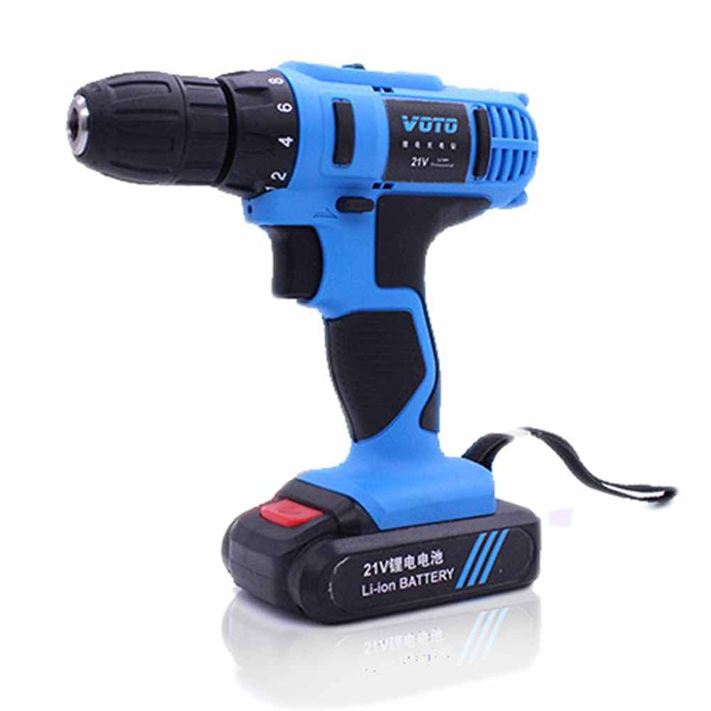 Rechargeable Cordless Mini Electric Screwdriver Drill Multi-functional Battery Drill Household Power Tools 21V 16.8V 12V