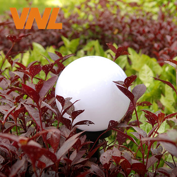 Vnl Ip65 Led Solar Jardim Bola Luz Movido A Energia Solar Lâmpada Do Gramado Com Sensor De Luz Para Férias Ao Ar Livre Jardim Caminho Paisagem Decoração