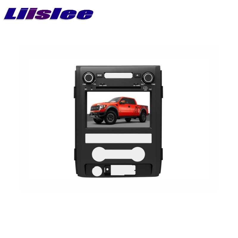 For Ford F150 2009~2014 LiisLee Car Multimedia TV DVD GPS Audio Hi-Fi Radio Original Style Navigation