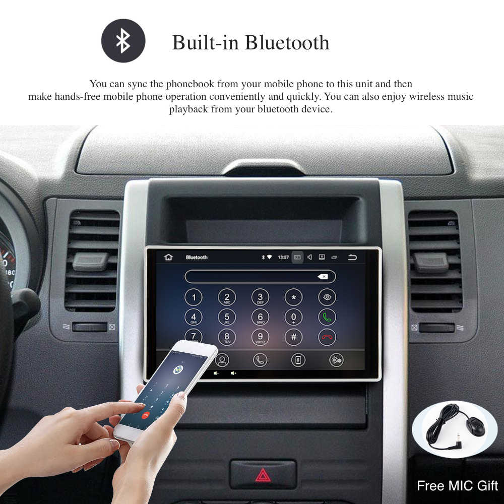 "Android 9,0 Car Radio GPS 2 Din Universal con 10,2 ""IPS Pantalla Completa DVD Multimedia 4Gb + 64 gb HDMI salida DSP WIFI BT SWC RDS mapa"