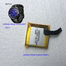 original Rechargeable Polymer Battery For zeblaze thor 4 dual thor 4 plus pro 4dual thor 5 thor pro Smart Watch clock battery