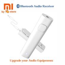 Original Xiaomi Bluetooth 4.2 Receptor de Audio Inalámbrico con Adaptador de 3.5mm AUX Música para el Altavoz Del Auricular Del Auricular Cable Libre