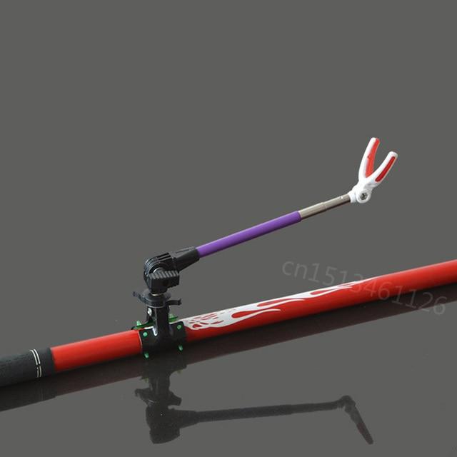 c8565768c 1 pcs Rotating Titular Varas de Pesca Trecho de Metal Rod Pólo Titular  Bracket pesca haste