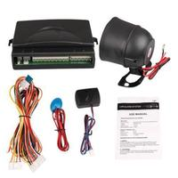 New Universal Car Alarm Security System Siren Keyless Entry System Kit Remote Control Central Lock 2