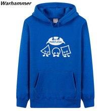 GEEK Warhammer Hoodies Men You're Pointless Men Funny Hoodies Printed U.S size XXXL Jacket Men Autumn Winter Hoodie Molleton Top