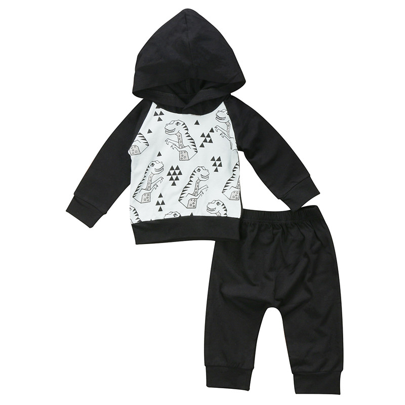 Newborn Infant Toddler Kids Baby Boy Clothes Tops Hoodie Sweatshirt T-shirt+Harem Pants Trousers 2Pcs Outfits Clothing Set 0-24M 0 24m newborn infant baby boy girl clothes set romper bodysuit tops rainbow long pants hat 3pcs toddler winter fall outfits