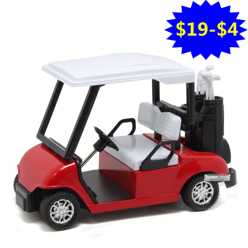 1:20 Scale Die cast Metal Cars Model, 12cm Simulation Golf Cars Toys, Toys For Children, ...