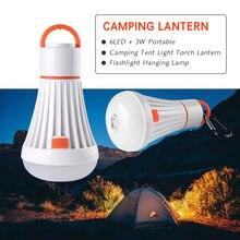 Aaa 18650 lanterna led 4 modos abs 6led + 3 w barraca de acampamento portátil luz tocha lanterna pendurado lâmpada led tarefa iluminação