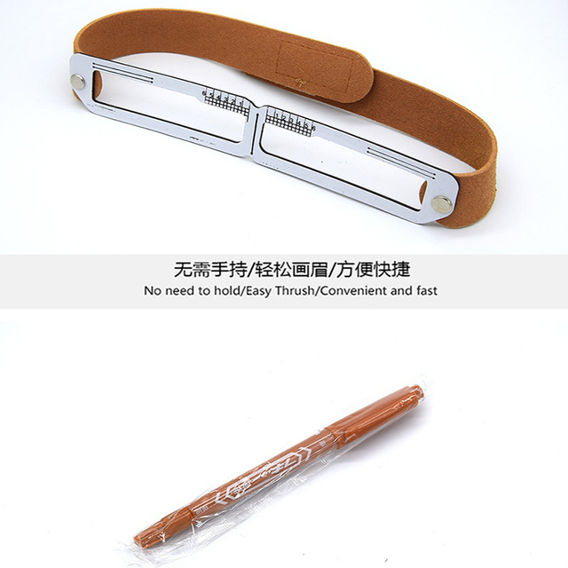 Microblading Eyebrow Stencil Golden Ratio Measure Models Shaping Permanent Makeup Tattoo Design Calipers Stencil Eyebrow Ruler 1