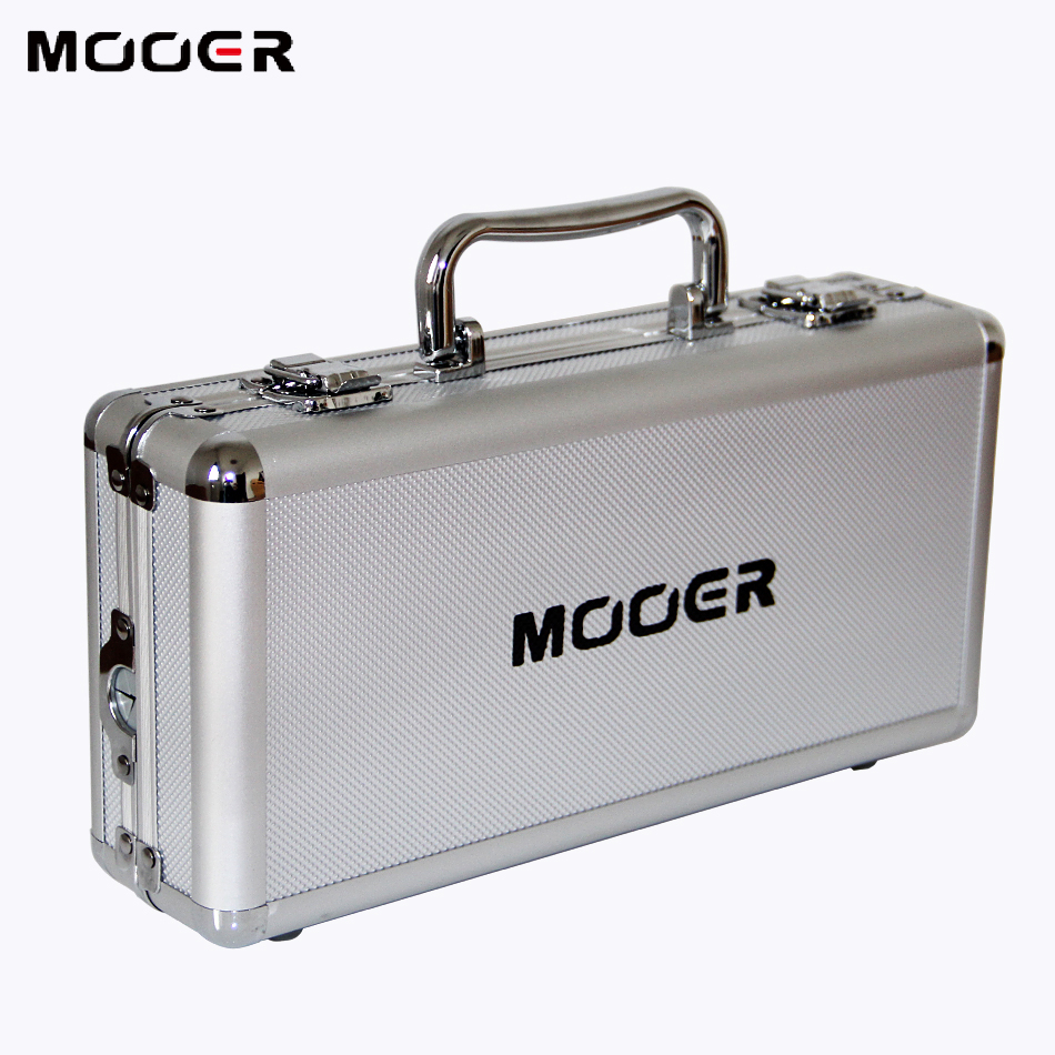 Mooer Firefly M4 Second Generation Flight Case- Firefly M4 for Micro Series Pedal and Mini Pedal Pedal Board