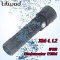 Linterna Led de buceo Z20D26 Litwod XML L2 encendido/apagado atenuación continua impermeable bajo el agua 150m por batería 26650