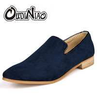Loafers Casual Shoes Men Loafer Chaussure Homme Slip On Shoes Men Leather Pointed Toe Flats Men